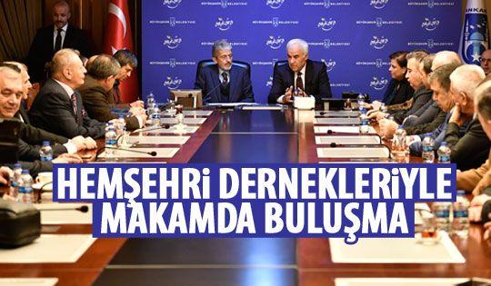 Başkan Tuna, dernek başkanlarıyla bir araya geldi