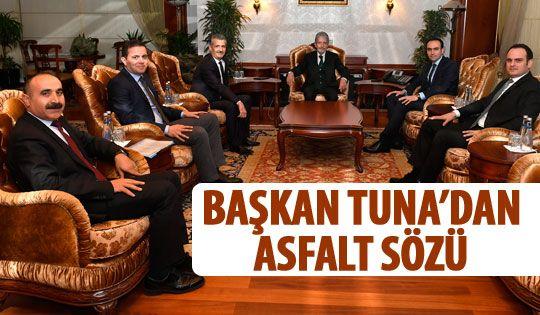 Başkan Tuna sanayicilerle bir araya geldi