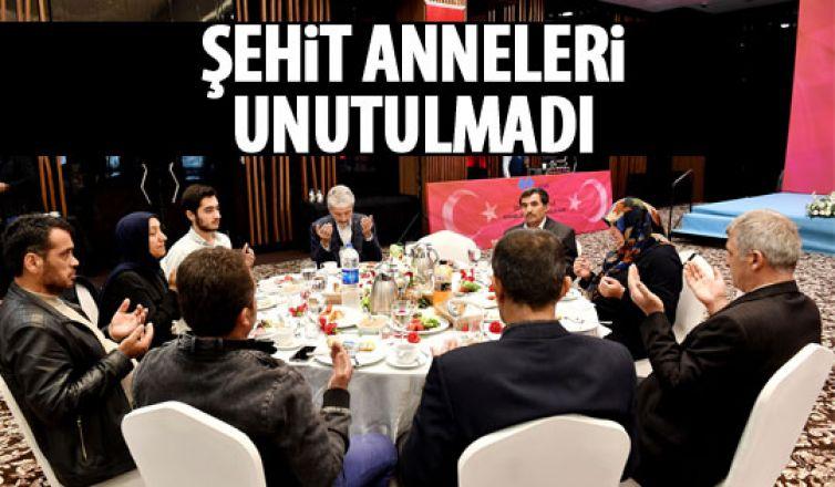 Başkan Tuna ve Bakan Sarıeroğlu şehit aileleriyle buluştu