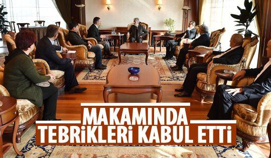 Başkan Tuna'ya tebrik ziyareti