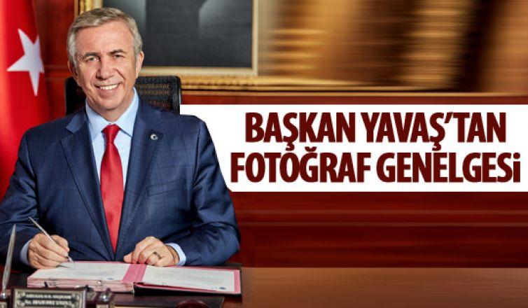 Başkan Yavaş'tan fotoğraf yasağı