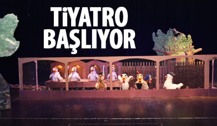 Başkent Tiyatroları perdelerini açıyor