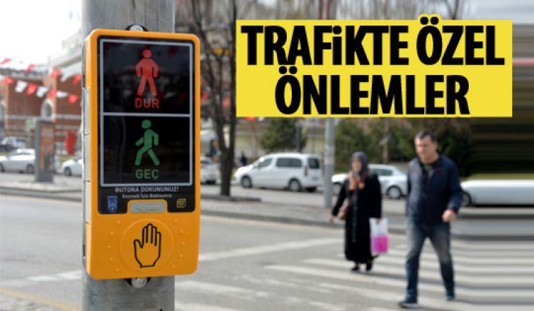 Başkent trafiğinde güvenlik önlemleri
