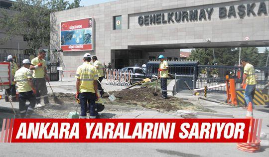 Başkent'te büyük onarım