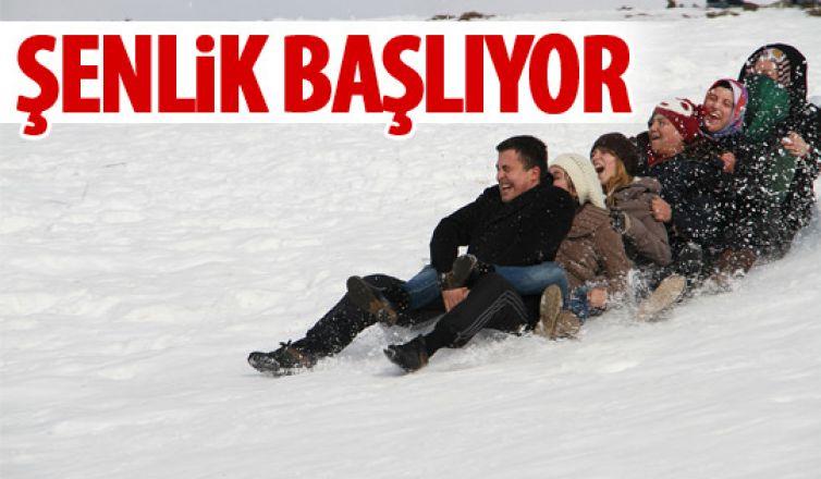 Beypazarı'dan kış şenliği