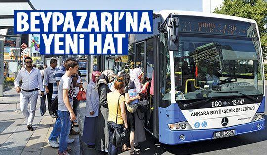 Beypazarı'na yeni otobüs seferleri