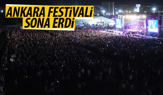 Büyük Ankara Festivali sona erdi