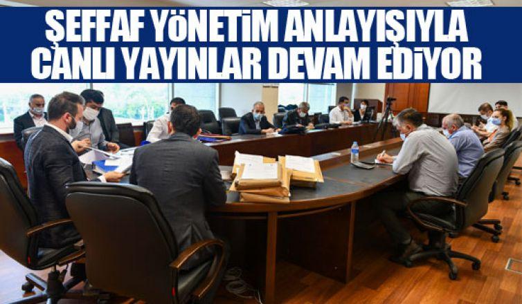 Büyükşehir'de şeffaf yönetim anlayışı devam ediyor!