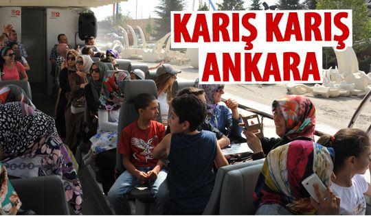 Büyükşehir'den Ankara turu