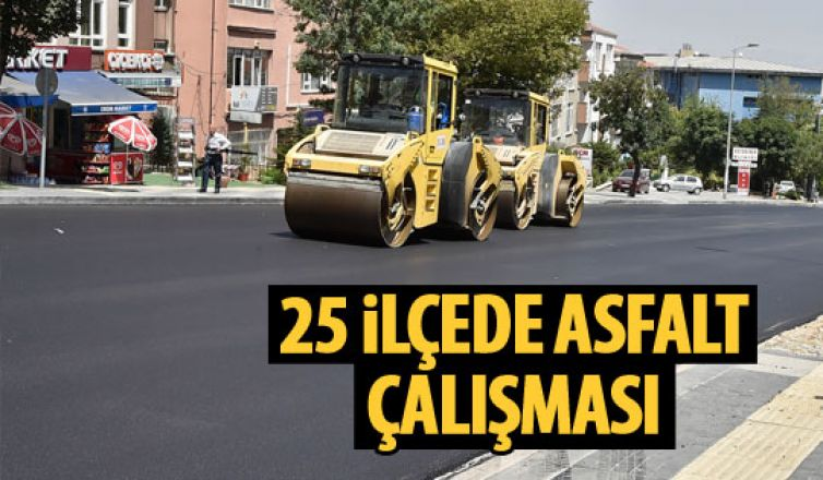 Büyükşehir'den asfalt çalışması