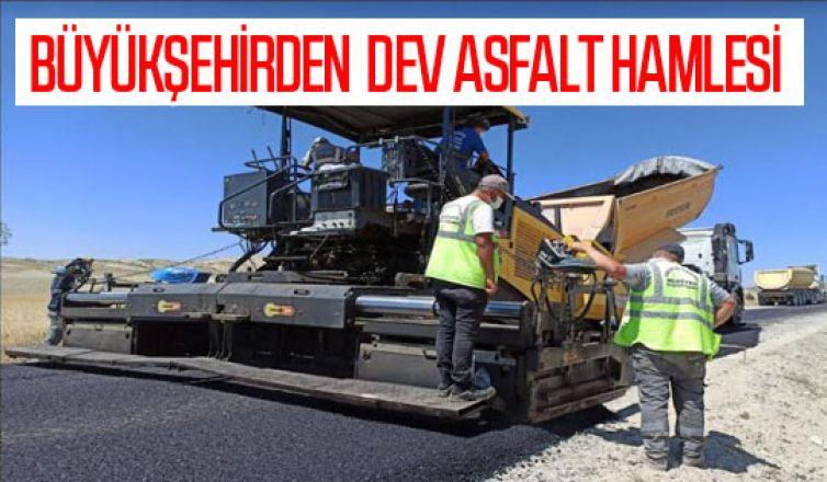 Büyükşehirden dev asfalt hamlesi: 15 ilçe 780 kilometre