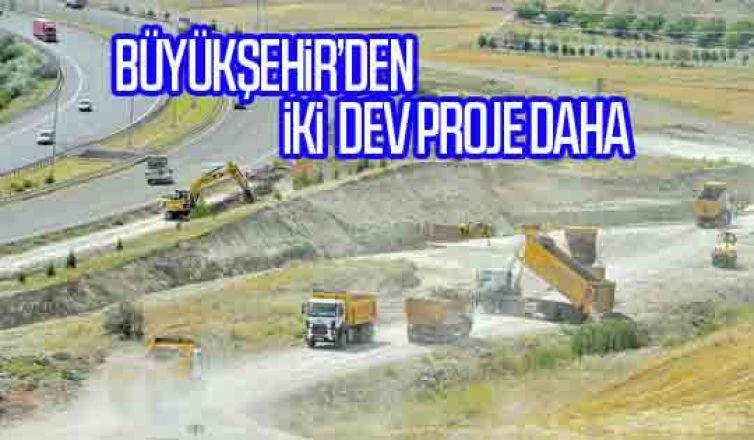 Büyükşehir'den iki dev proje daha:Şaşmaz bulvarı ve Ayaş yolu'na yeni köprülü kavşaklar yapılacak