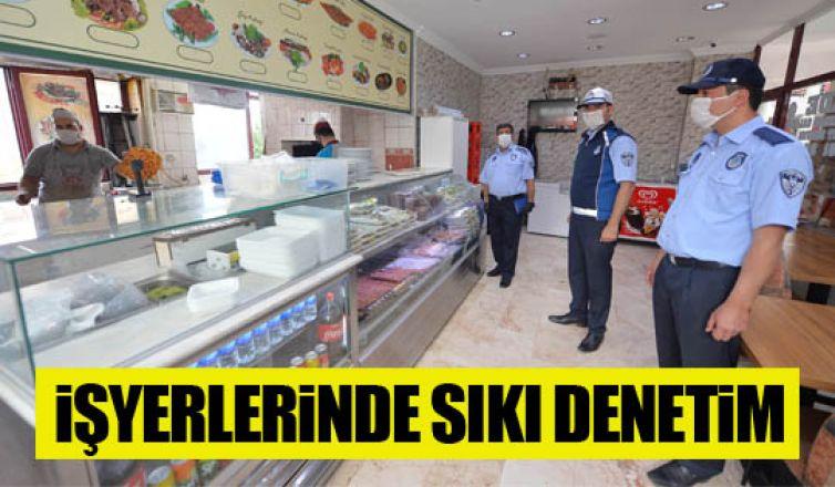 Büyükşehir'den iş yerlerine dezenfeksiyon desteği,maske dağıtımı ve hijyen kontrolü