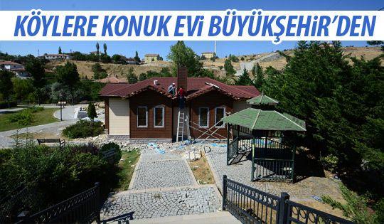 Büyükşehir'den köylere destek