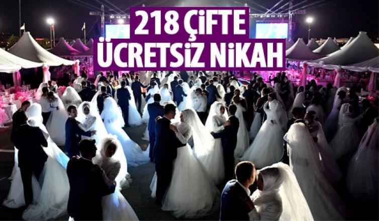 Büyükşehir'den nikah seferberliği