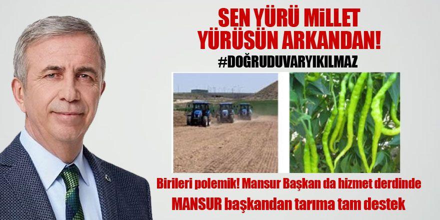 Büyükşehir'den tarıma tam destek