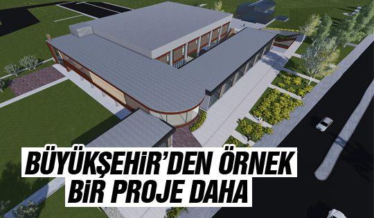 Büyükşehir'den yeni spor tesisi daha
