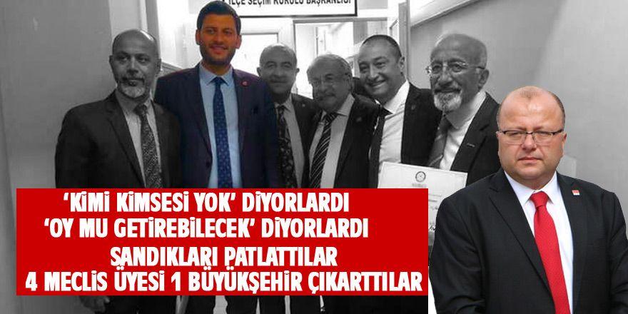 CHP Gölbaşı'nda tarih yazdı