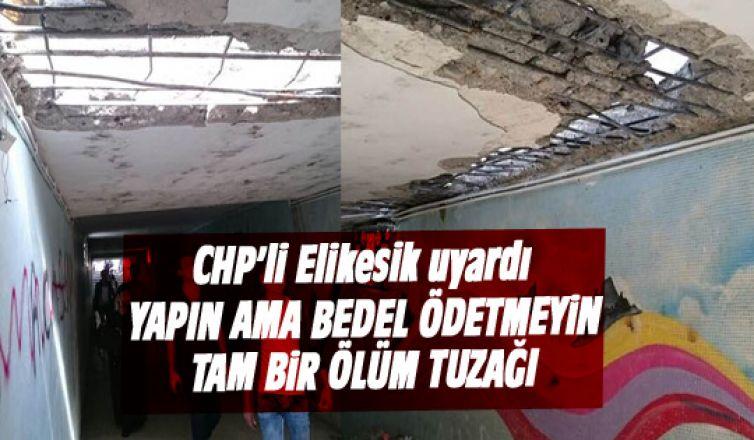 CHP'li Elikesik uyardı: Bedel ödetmeyin