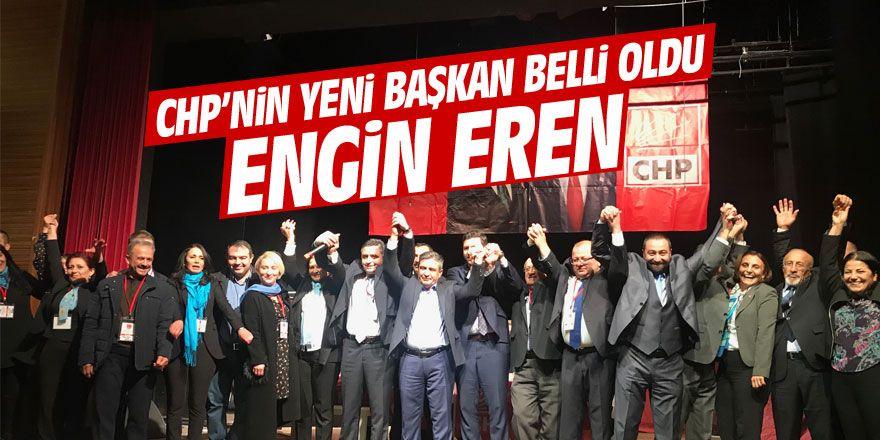 CHP'nin yeni ilçe başkanı Engin Eren oldu