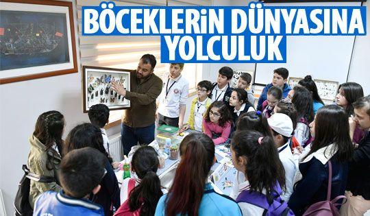 Çocuk Meclisi Böcek Şenlik Okulu'nu ziyaret etti