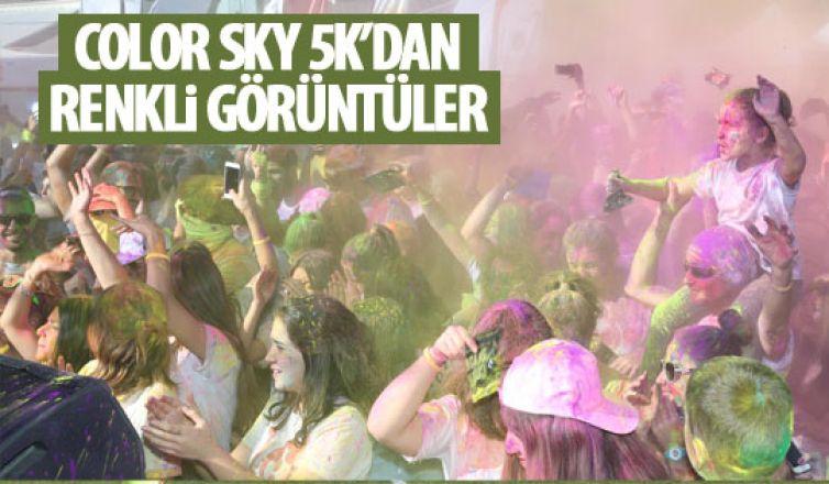 Color Sky 5K'dan renkli görüntüler