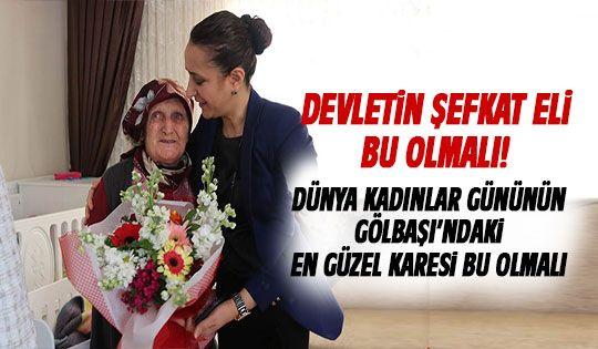 Dünya Kadınlar Günü'nde devletin şefkat eli