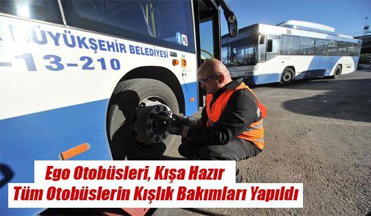 EGO OTOBÜSLERİ, KIŞA HAZIR