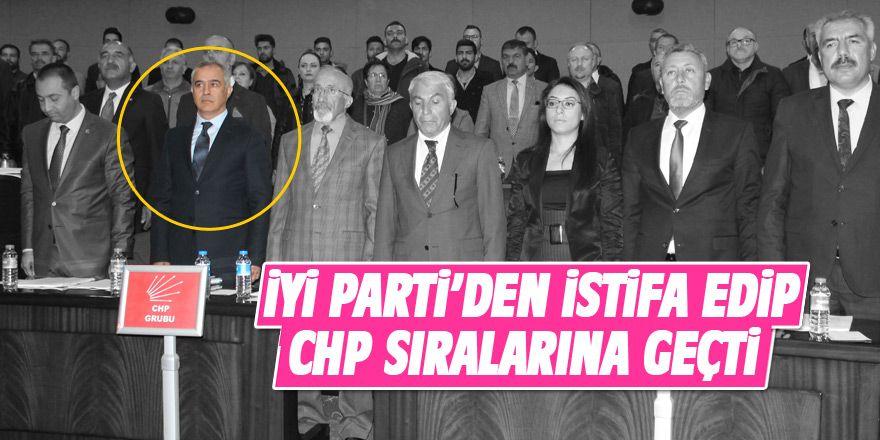 Ercan Şimşek istifa ederek CHP'ye geçti