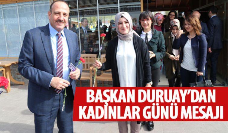 Fatih Duruay'dan Kadınlar Günü mesajı