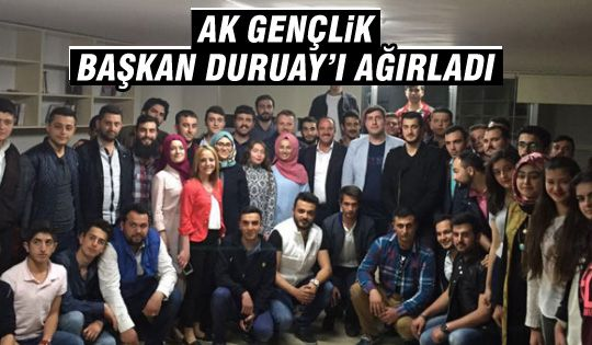 Gölbaşı AK Gençlik Başkan Duruay'ı ağırladı