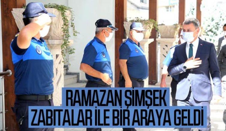 Gölbaşı Belediye Başkanı Ramazan Şimşek Zabıta Haftasını Kutladı…