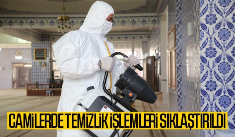 Gölbaşı Belediyesi Camilerdeki Temizlik Çalışmalarına Devam Ediyor...