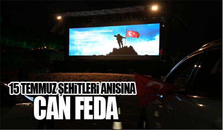 Gölbaşı Belediyesi Şehitleri 'Can Feda' ile andı…