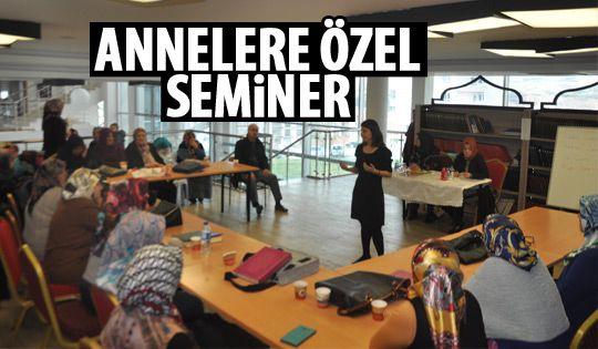 Gölbaşı Belediyesi seminerlerine devam ediyor
