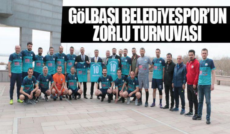 Gölbaşı Belediyesispor 2020 Spor Toto Kamu Futbol Turnuvasına katıldı!