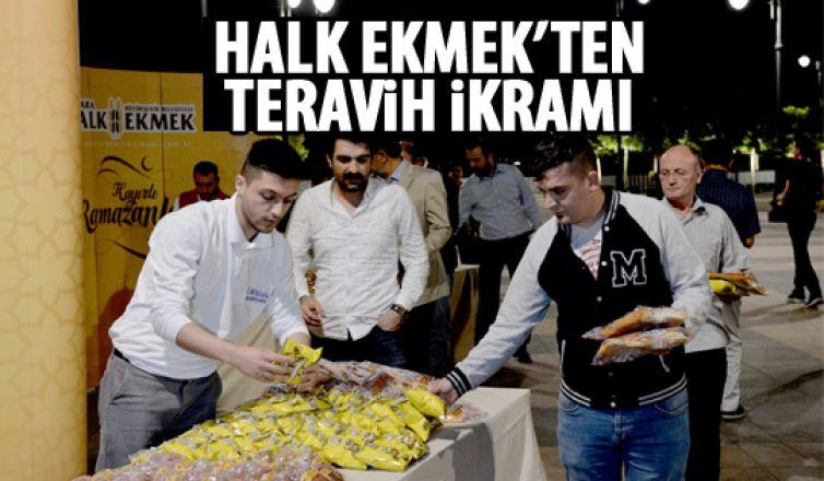 Halk Ekmek'ten ikram