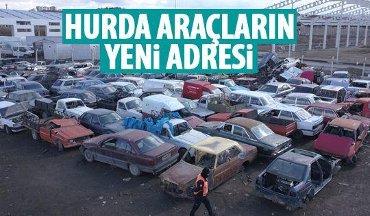 Hurda araçların yeni adresi