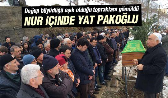 İbrahim Pakoğlu defnedildi