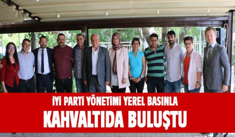 İYİ Parti Gölbaşı ilçe Başkanlığı yerel basınla kahvaltıda buluştu