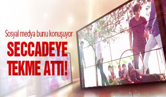 İzmir'de çok konuşulan namaz deneyi
