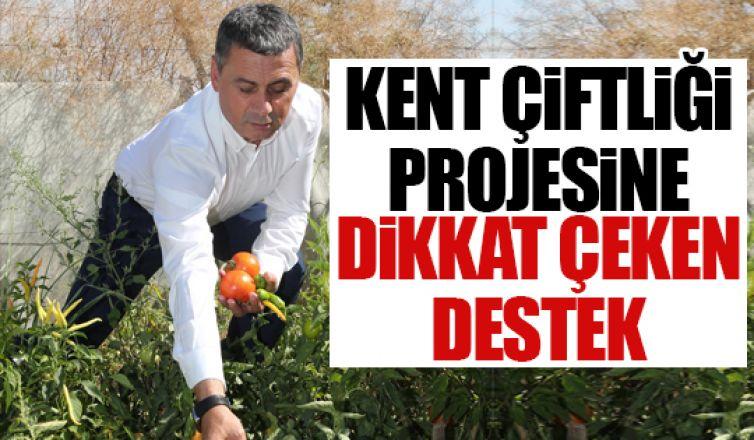 Kent Çiftliği Projesine Ankara Kalkınma Ajansı'ndan destek!