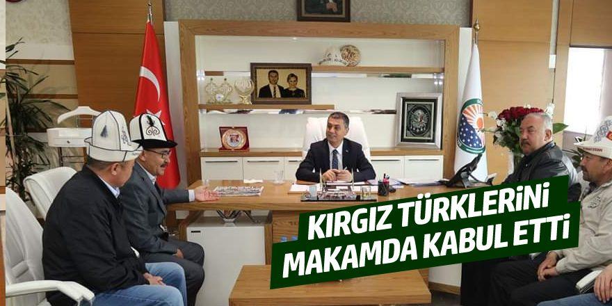 Kırgız Türklerinden Başkan Şimşek'e ziyaret