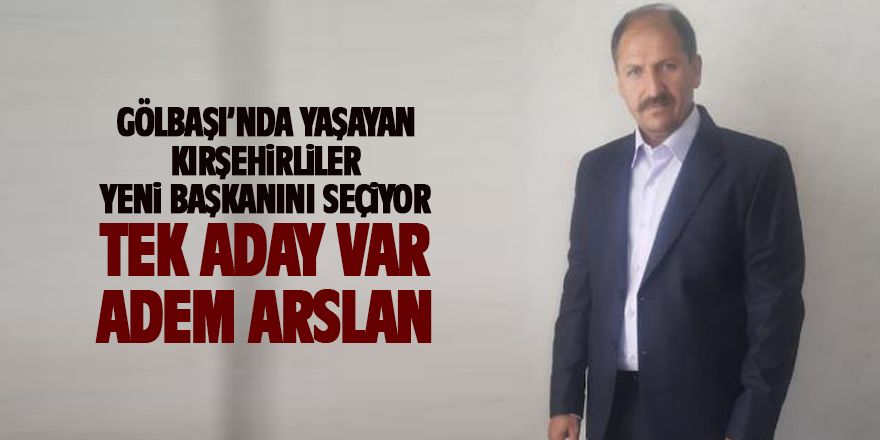 Kırşehirliler yeni başkanını seçiyor