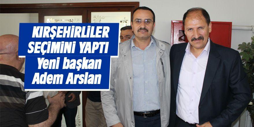 Kırşehirliler yeni başkanını seçti