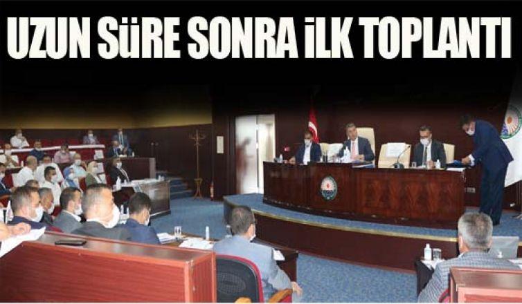 Korona virüsten sonra meclis ilk kez toplandı