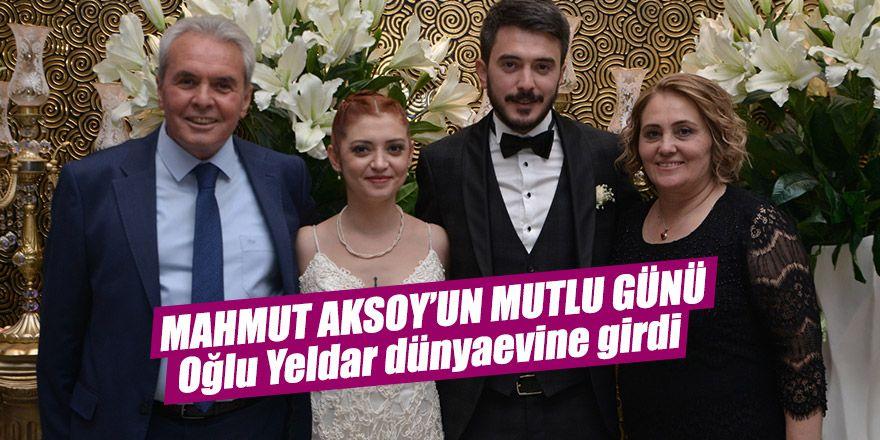 Mahmut Aksoy'un mutlu günü