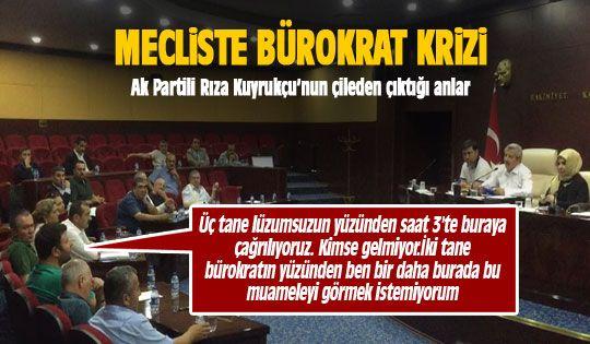 Mecliste bürokrat krizi... Rıza Kuyrukçu çıldırdı!