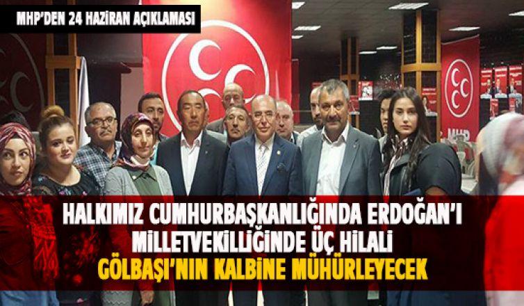 MHP'den 24 Haziran açıklaması