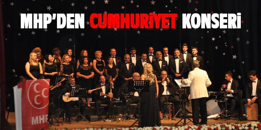 MHP'den 29 Ekim konseri